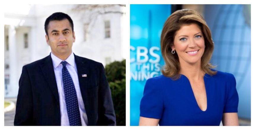 Actor, Kal Penn, left, will deliver the undergraduate commencement address on May 18, while Norah O'Donnell, CBS Morning co-host will give the graduate commencement speech on May 16. Photos courtesy of Kean University