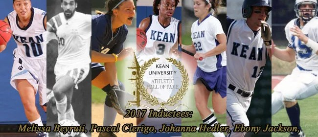 Hall of Fame announcement. Photo Courtesy of Kean Athletics Department