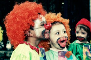 Clowns are also viewed as a source of happiness to some  Credit: Flickr