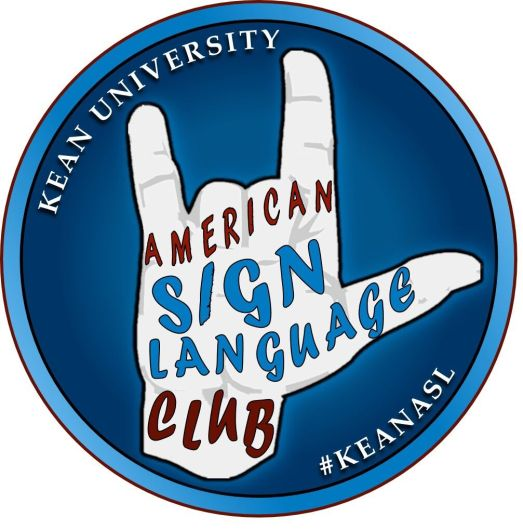 The logo for the ASL Club at Kean University Credit: Jack Tomey