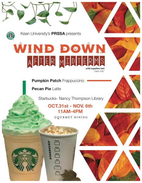 Flyer for the event Courtesy of PRSSA