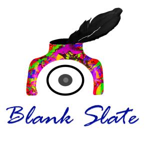 Blank Slate Literary Magazine logo Source: www.facebook.com/blankslatemagazine