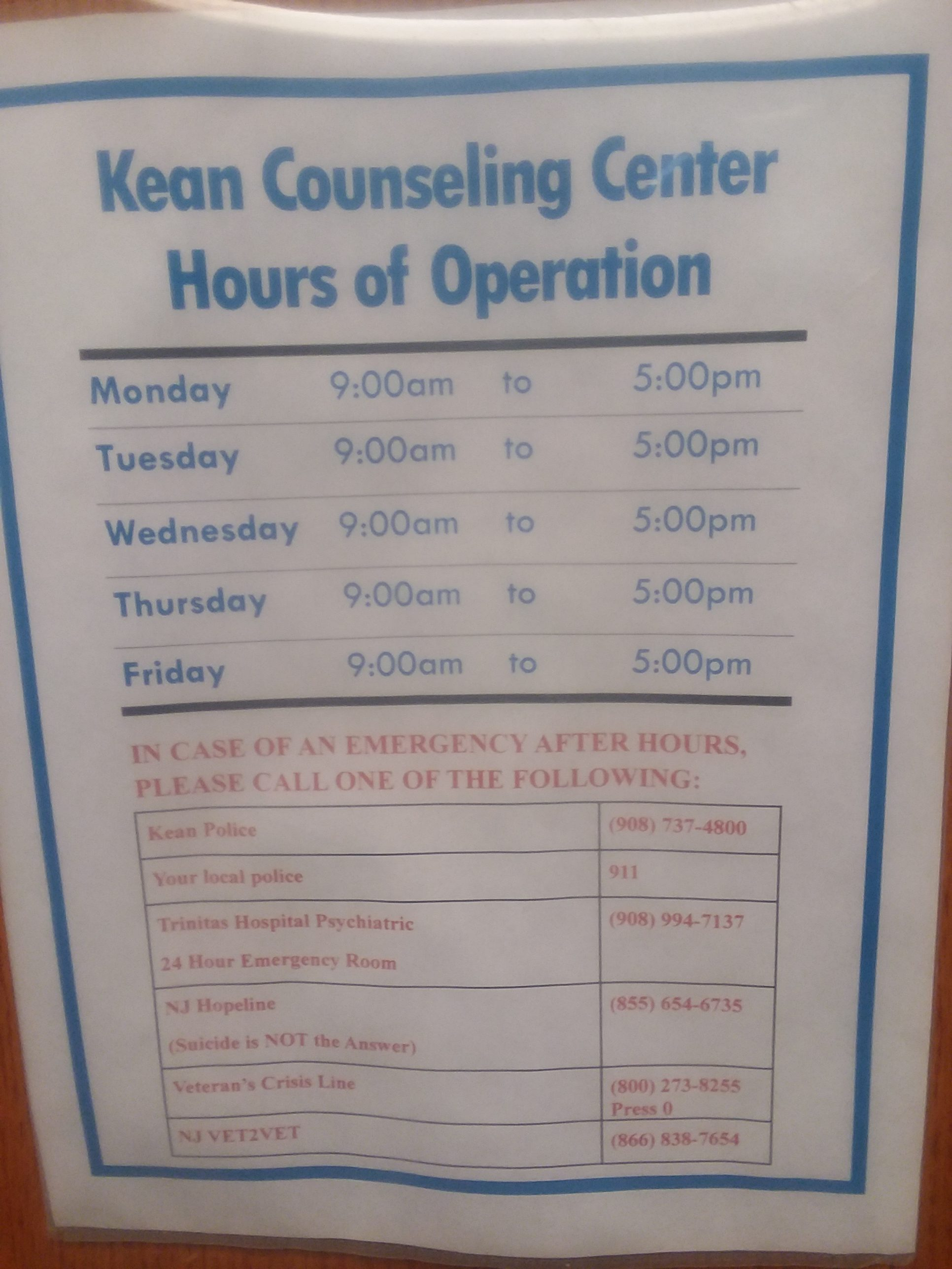 Kean Health Services >> Getting Help From Health Services At Kean University