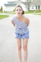 Coachella Shorts and Edgy Tank 1.5