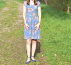 Mama Joy Pleat Dress 1