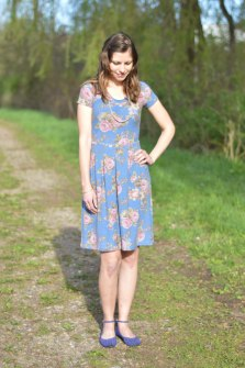 Mama Joy Pleat Dress 4