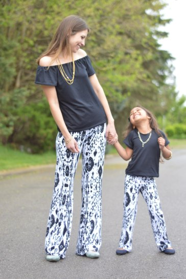 Girl Potlander Pants Mama Daughter 1