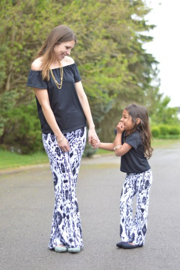 Girl Potlander Pants Mama Daughter 3