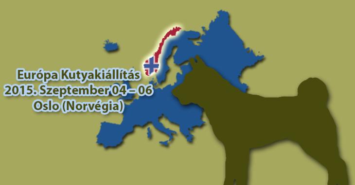 Europa Kutyakiállítás – 2015 Norvégia