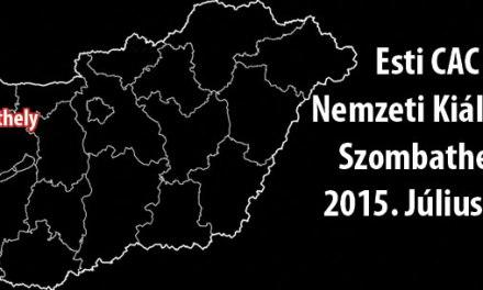 Esti CAC Nemzeti Kiállítás – Szombathely – 2015. Július 11.