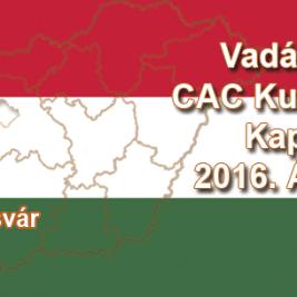 Vadászkutya CAC Kutyakiállítás – Kaposvár - 2016. Április 09.