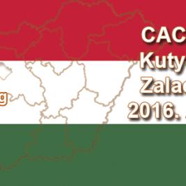 CAC Nemzeti Kutyakiállítás - Zalaegerszeg - 2016. Április 17.