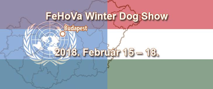 FeHoVa Winter Dog Show – Budapest – 2018. Február 15 – 18.