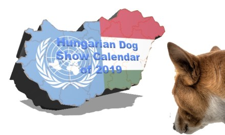 Hungarian Dog Show Calendar of 2019