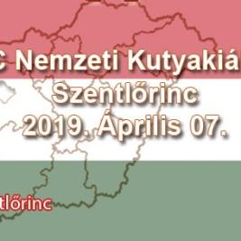 CAC Nemzeti Kutyakiállítás – Szentlőrinc - 2019. Április 07.