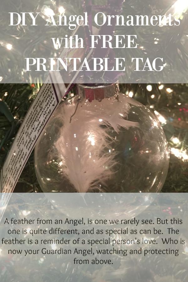 Angel Ornaments-Free Printable