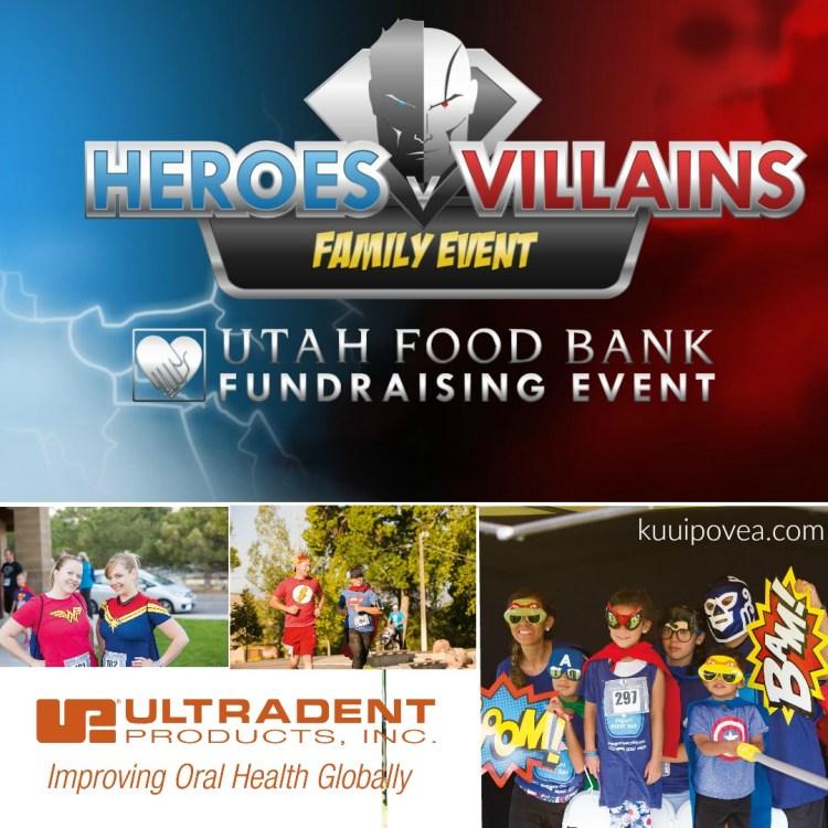 **Utah Event** Heroes v Villains Utah Food Bank Fundraiser