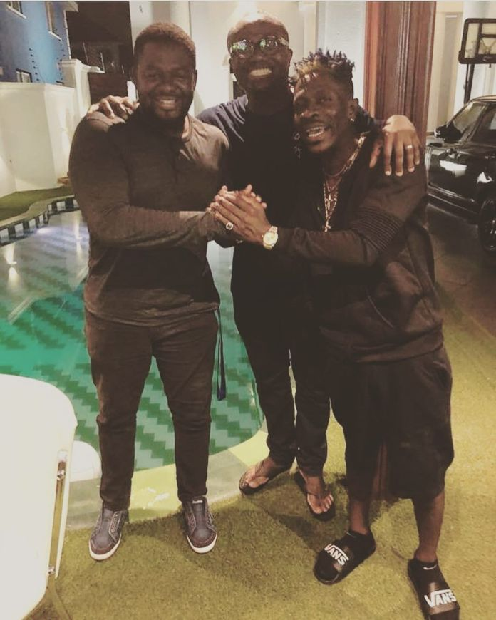 Shatta Wale, Bulldog and Bola Ray