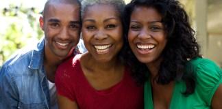 Black people happy