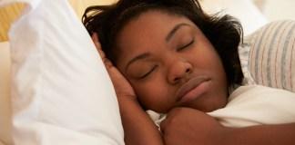 Sleeping lady