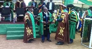 UENR first PhD graduate