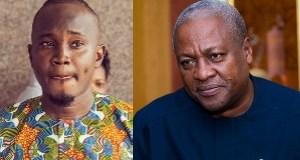 John Mahama and OB Amponsah
