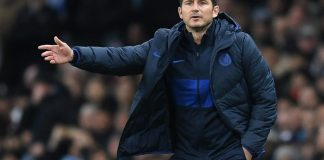 Chelsea coach, Frank Lampard (photo credit: talkSPORT)