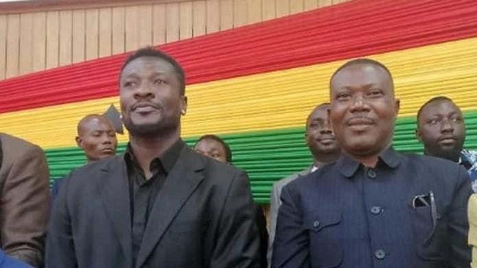 Asamoah Gyan in parliament