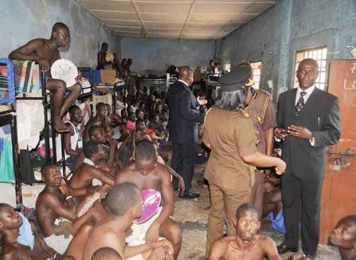 Ghana Prisons Arrested