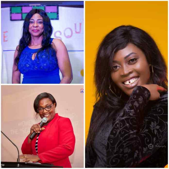 photo grid of Dr Israel, Dr Offei Awuku and Pamela Aku Dzifa