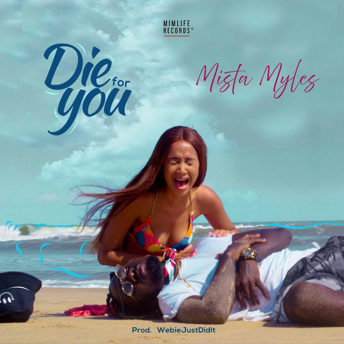 cover art for Mister Myles' Die For You
