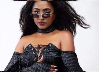 East African singer