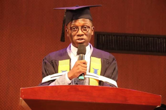 Bernard Addo Obeng UPSA Valedictorian