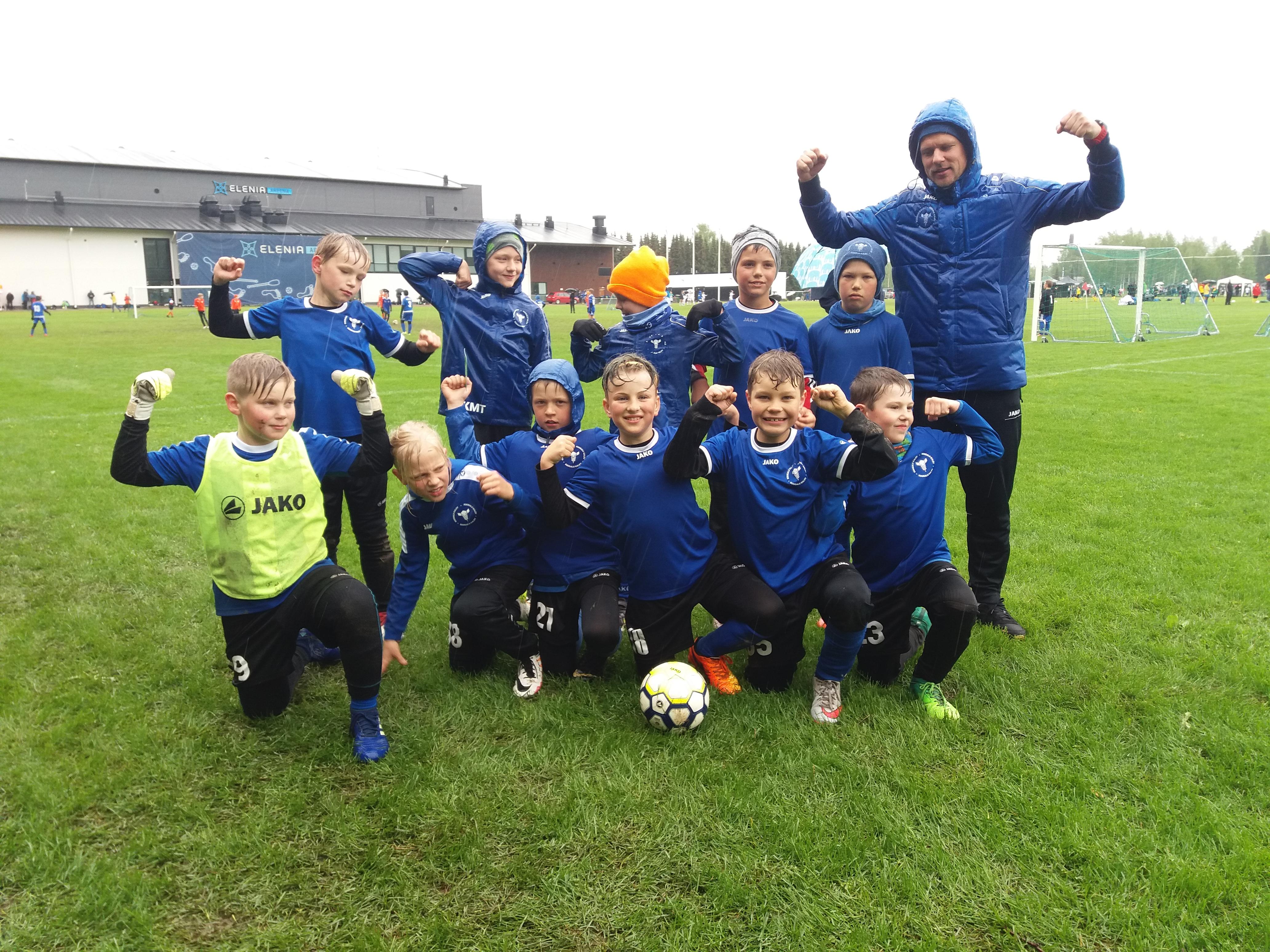 U11 osales Soomes Lähitapiola Cupil