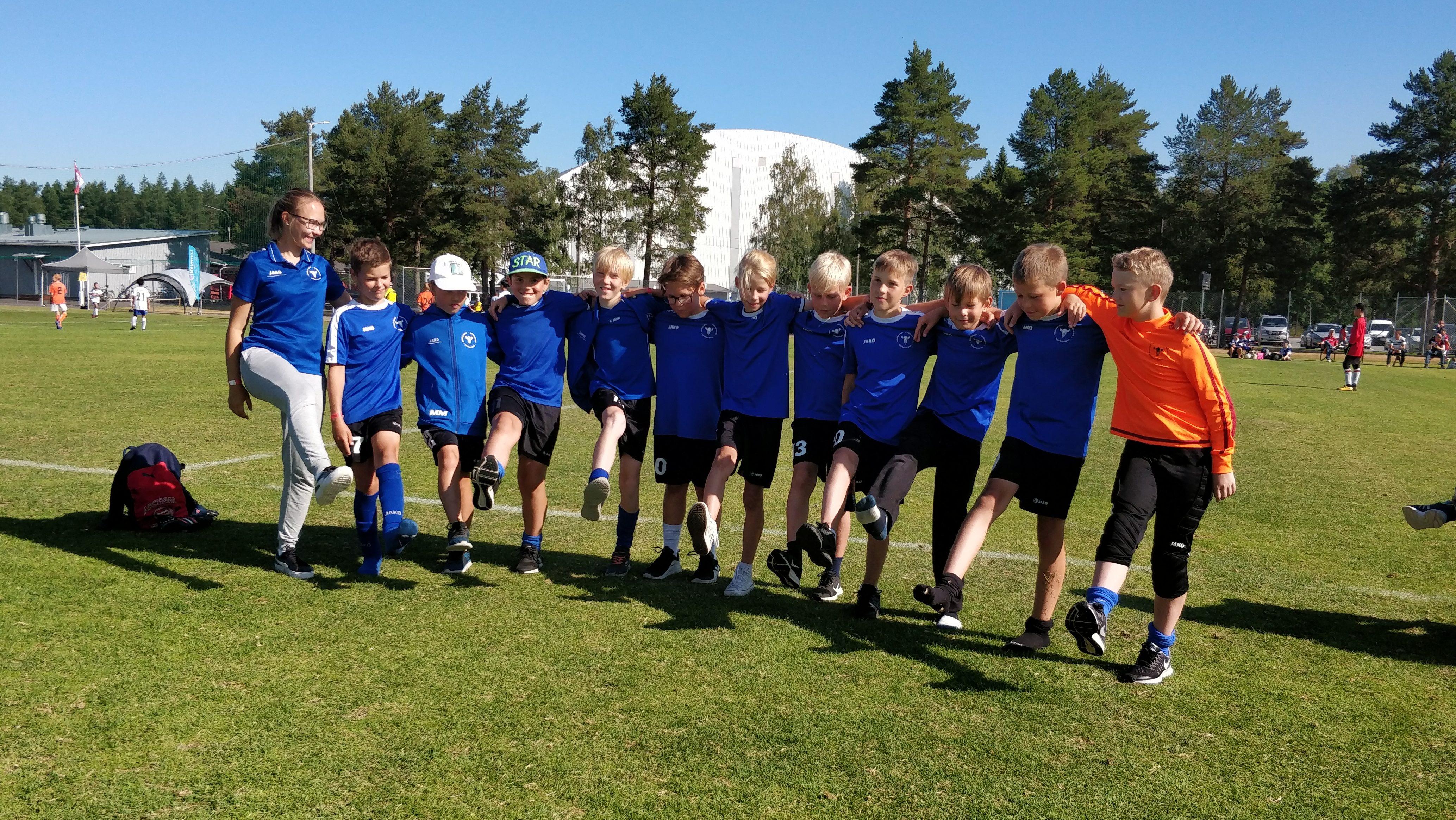 U12 grupp oli edukas Soomes Kokkola Cupil!