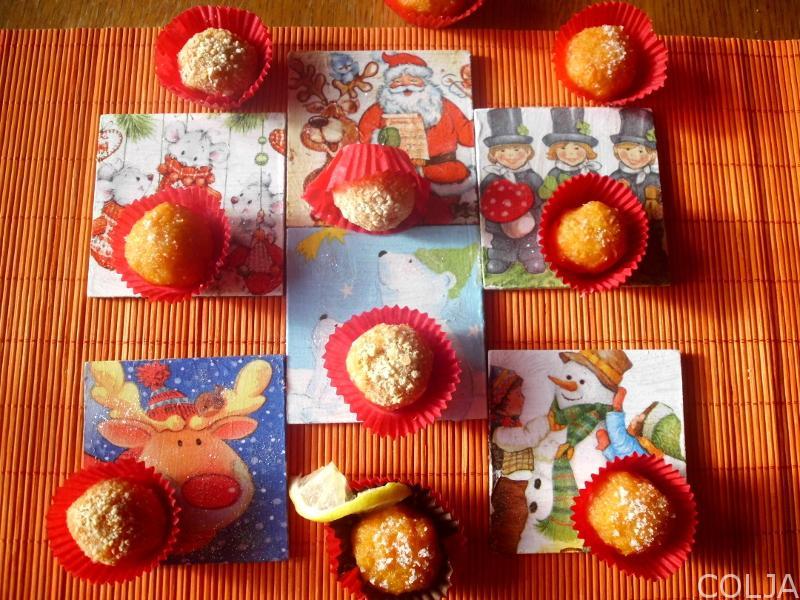 Kuglice sa šargarepom i jabukama