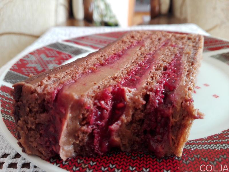 Načeto parče torte