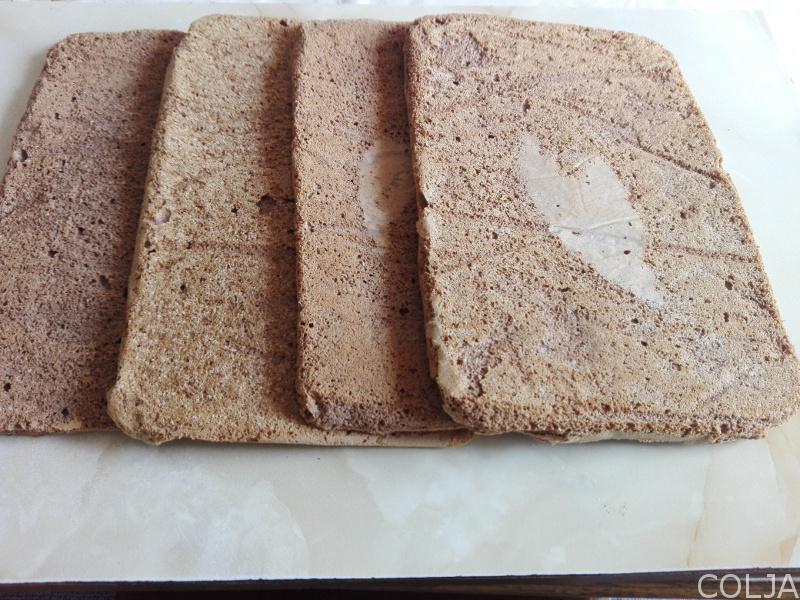 Pečene kore za baron tortu