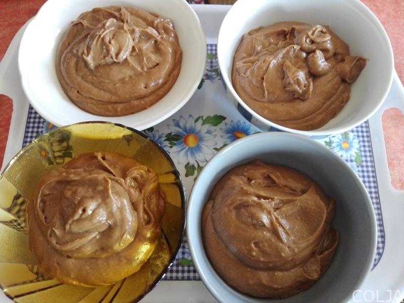 Podeljen čokoladni fil