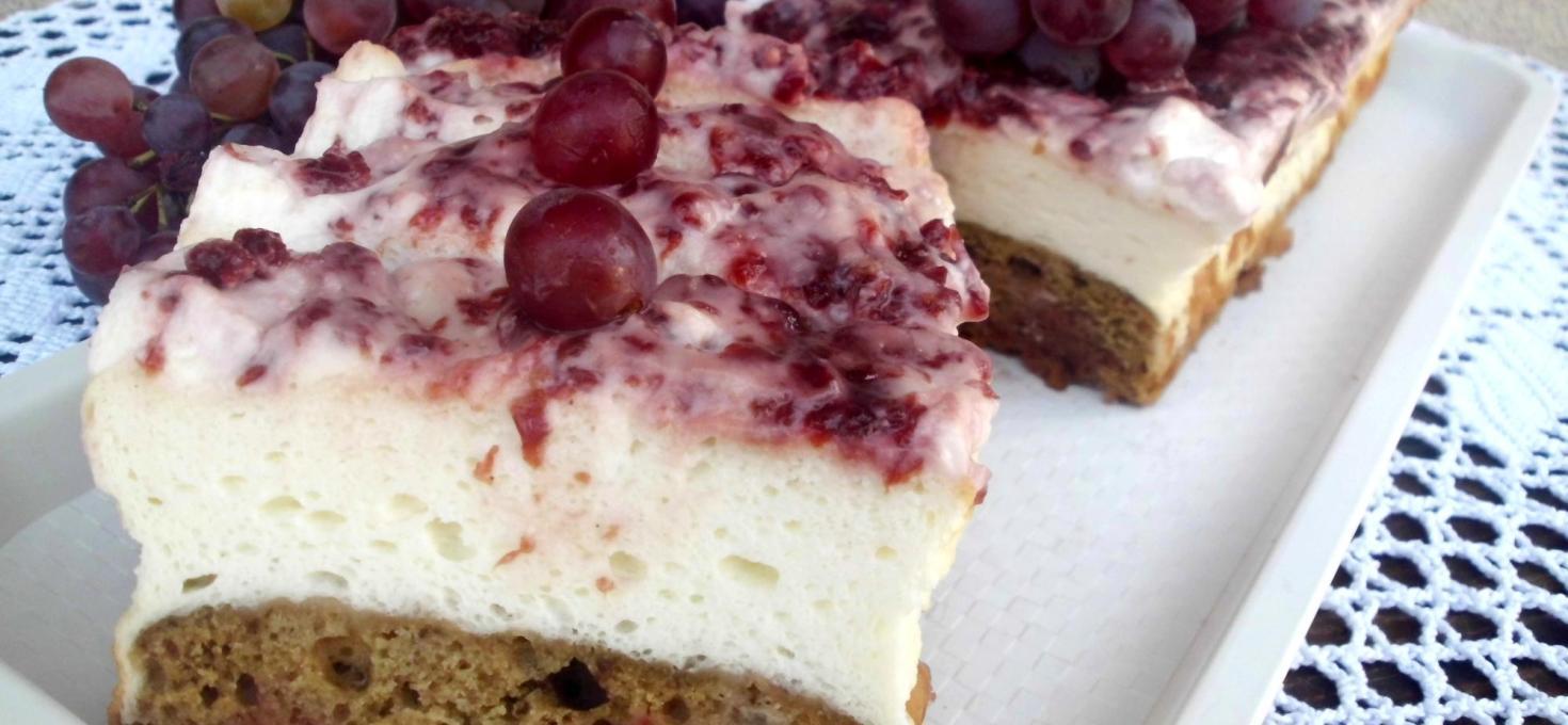 Mlečni sneg kolač
