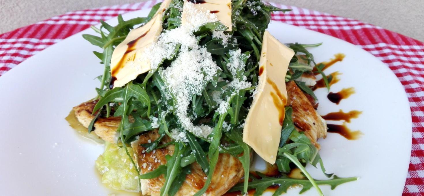 Ćuretina sa grilovanim povrćem