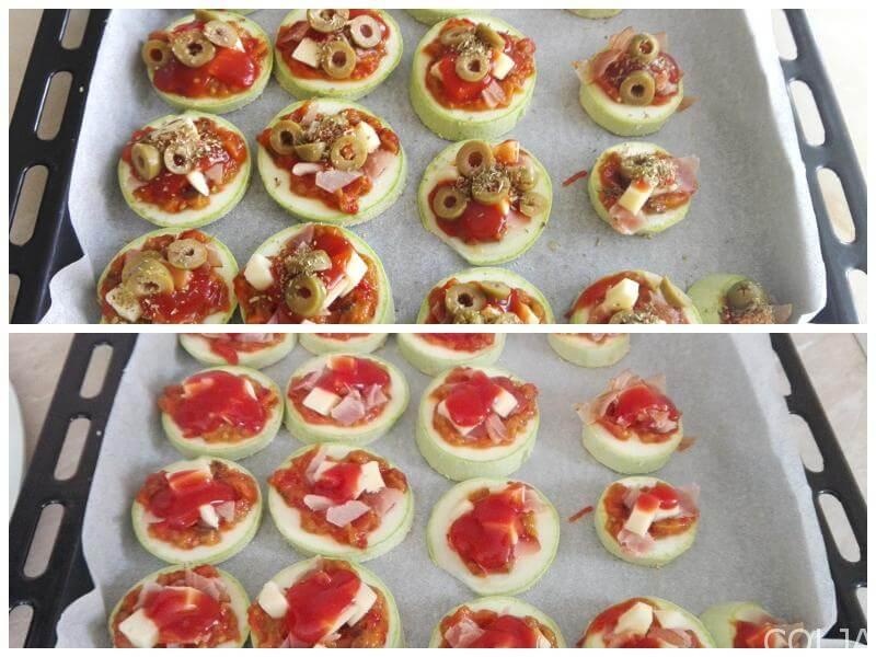 Kolaž1 mini pizze sa tikvicama