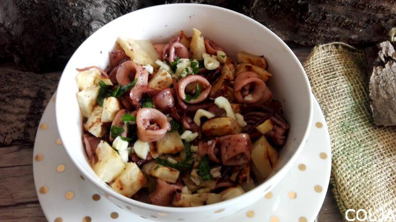 Salata od lignji i celera