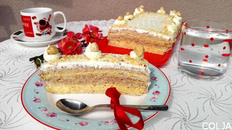 Lešnik torta1