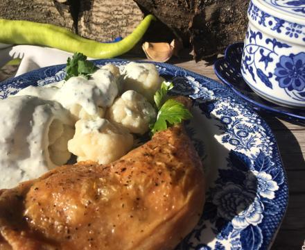 Piletina u sosu od mirođije