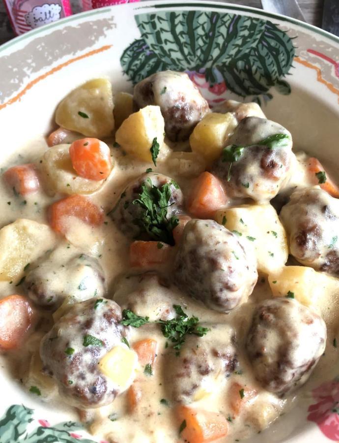 Ćuftice sa povrćem i pavlakom