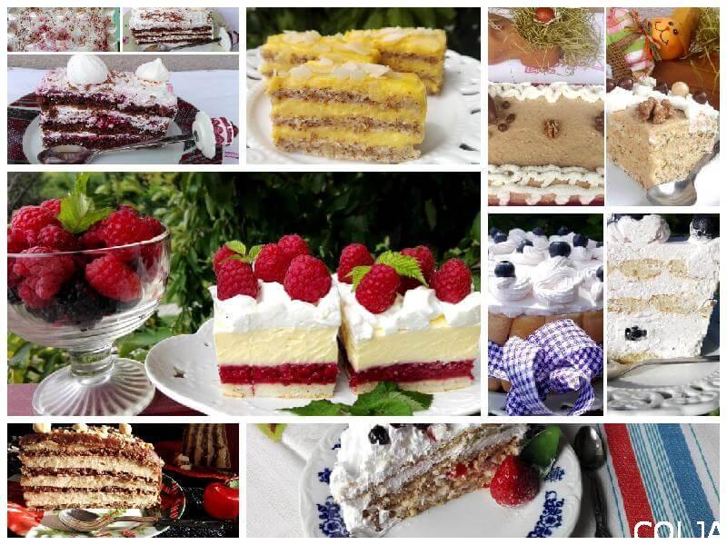 Praznične torte i kolači