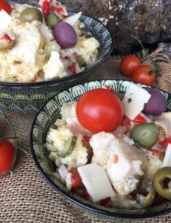 Salata sa piletinom i pirinčem
