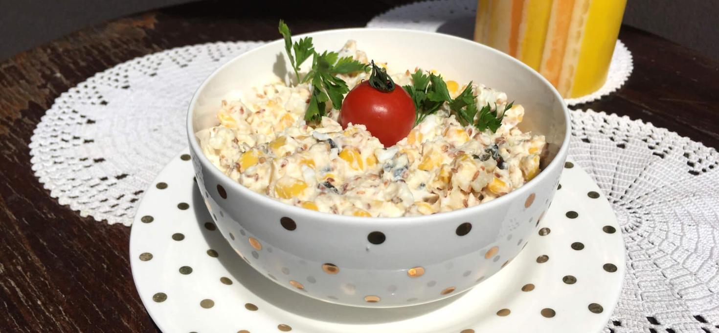 Salata sa kukuruzom i susamom