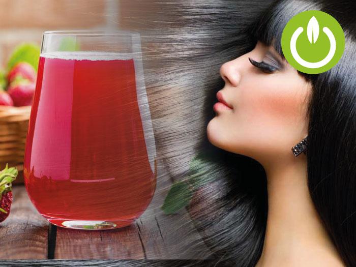 5 jugos Kuvings para un cabello saludable